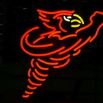 Awesome Iowa State Cyclones Throwback Logo Neon Light Available For