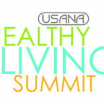 Back Stage This Time For The Usana Healthy Living Summit