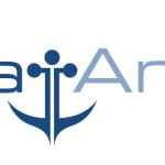 Boat Angel Logo Where The Anchor Below Other