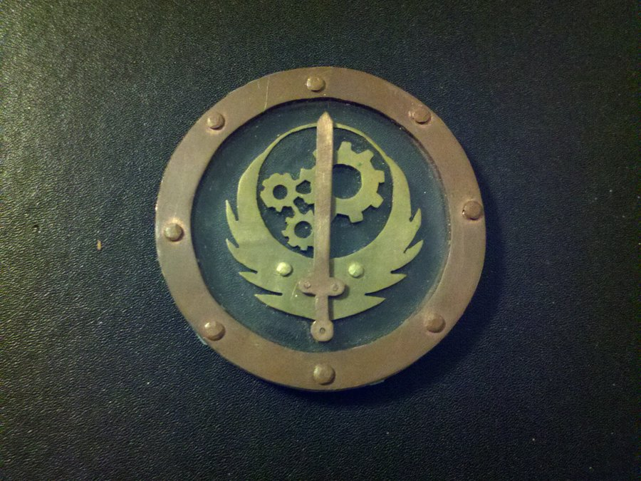 Brotherhood Steel Logo Wastelandworks