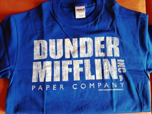 Camiseta Dunder Mifflin Paper The Office