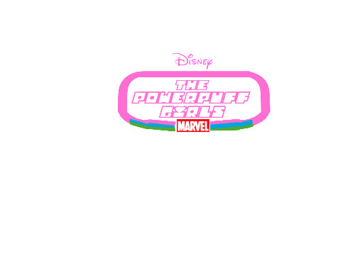 Disney The Powerpuff Girls Movie Logo Edogg