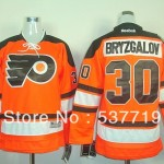 Free Shipping Embroidery Logos Men Hockey Ice Bryzgalov Color