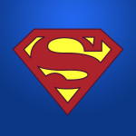 Free Superman Vector Logo Ideal For Print And Shirt Design