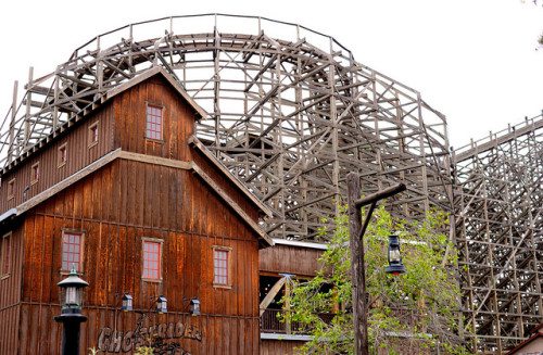 Ghostrider Knott Berry Farm