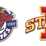 Iowa State Cyclone Logos Left Right