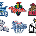 Minor League Baseball Logos Its Easy When You Play Rejects And