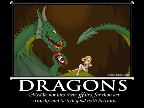 Not Meddle The Affairs Dragons Framed