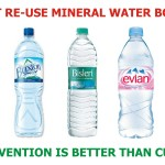 Not Use Mineral Water Bottles