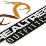 Realtree Outfitters Logo Flat Decal Full Color Qty