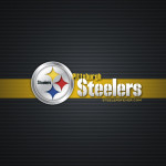 Tapeta Logo Pittsburgh Steelers