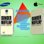 The Office Dunder Mifflin Logo Case For Iphone Kuntidesign
