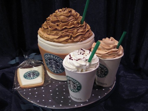 The Starbucks Cake Need Say More