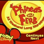 Toon Disney Phineas And Ferb All Weekend Long Marathon