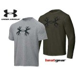 Under Armour Antler Logo Long And Short Sleeve Tees Cabela
