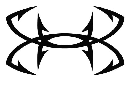 Under Armour Fish Hook Decal