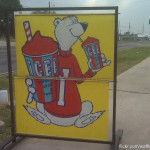 Vintage Icee Sign Found This Awesome Old Along The Road