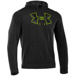 Bluza Under Armour Charged Cotton Storm Big Logo Hoody Black