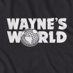 Details About Wayne World Shirt Logo Snl Saturday Night Live