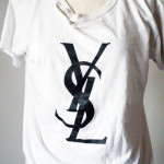 Got This Fake Ysl Tee From
