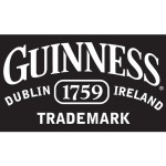 Guinness Trademark Logo Beach Towel