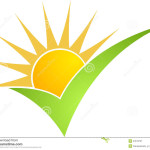 Illustration Art Sun Power Isolated