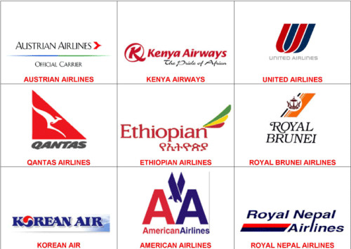 Major Airline Logos Kompassaviation Placements Htm