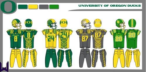 Oregon Ducks Concept