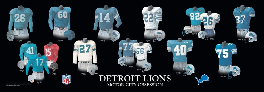 Please Click The Evolution Lions Uniform Poster Above For