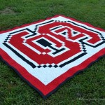 State Logo Quilt Ncsu Wolfpack