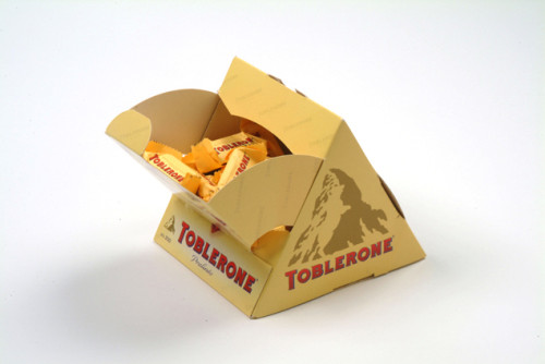Toblerone Best Known For Its Triangular Chunks Representing The