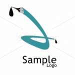 Two Pen Logo Template Inspiration Gallery Visual Identity