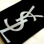 Ysl Inspired Logo Printed Eco Friendly Cotton Persontenth