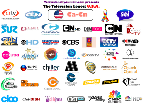 American Cable And Satellite Television Network Logos