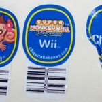 Chiquita Banana Stickers Featuring Super Monkey Ball Step And Roll Wii