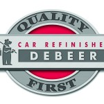 Debeer Car Refinishes Quality First Logo Valspar