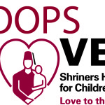 Degree Shriners Hoops For Love Logo