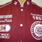 Details About Morehouse College Tiger Pride Heavyweight Racing Jacket
