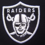 Details About Oakland Raiders Black Flatbill Fitted Cap White Under