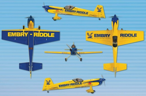 Embry Riddle Logo Underneath The Wing Part Expertly Factory