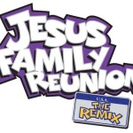 Jesus Reunion Remix Logo Text
