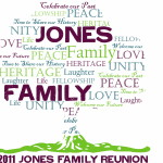 Jones Reunion Logo Design For Was