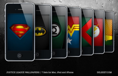 Justice League Logos For Iphone And Ipad