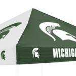 Logo Chairs Michigan State Spartans Canopy