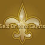 New Orleans Saints Gold Logo