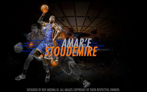 Amare Stoudemire New York Knicks Widescreen