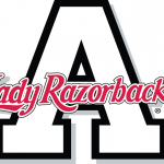 Arkansas Razorbacks Alternate Logo Lady