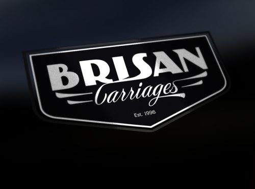 Art Deco Carriage Company Logo Design