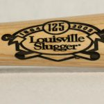 Authentic Personalized Louisville Slugger Collectible Bats For