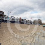Barriers Covered Logos The Boat Race Sponsor Bny Mellon